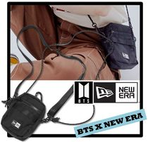 New Era Casual Style Unisex Street Style Shoulder Bags