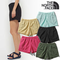 THE NORTH FACE Short Casual Style Nylon Street Style Logo Shorts