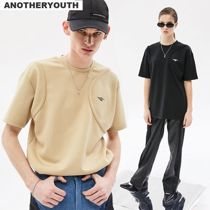 ANOTHERYOUTH More T-Shirts Unisex Street Style Short Sleeves Logo T-Shirts