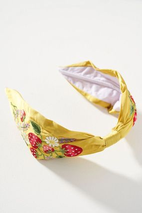 Anthropologie Scrunchy Casual Style Blended Fabrics Collaboration