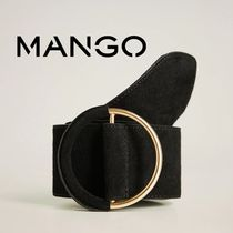 MANGO Leather Belts