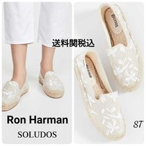Ron Herman Flower Patterns Rubber Sole Casual Style Street Style