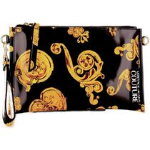 VERSACE JEANS Casual Style 2WAY Party Style Elegant Style Crossbody Logo