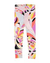 Emilio Pucci Blended Fabrics Kids Girl  Bottoms