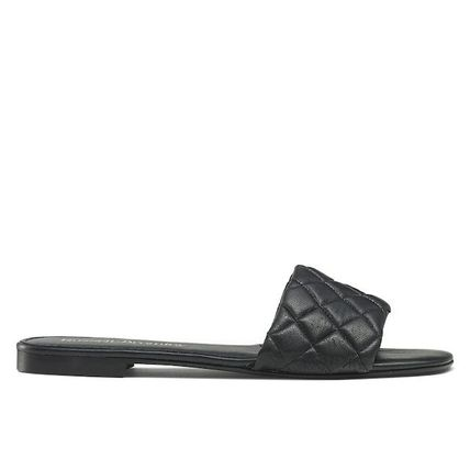 Open Toe Platform Leather Platform & Wedge Sandals