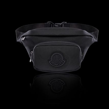 MONCLER Plain Logo Messenger & Shoulder Bags