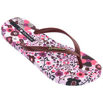 IPANEMA Flower Patterns Casual Style Flip Flops Flat Sandals