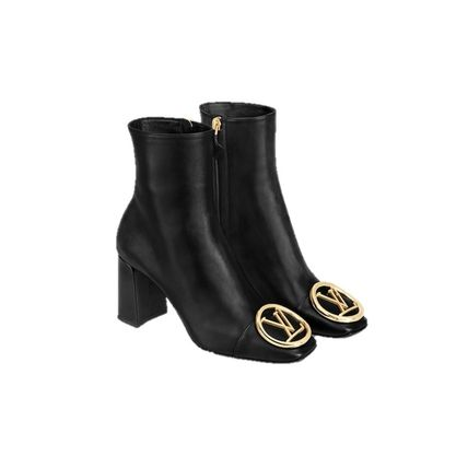 Louis Vuitton 2020-21 AW MADELEINE ANKLE BOOT black ankle & booties