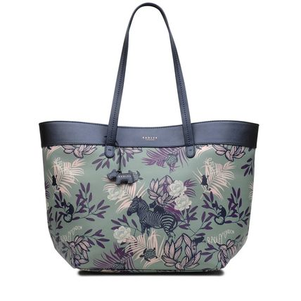 Flower Patterns Totes