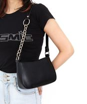 OPEN THE DOOR Plain Shoulder Bags