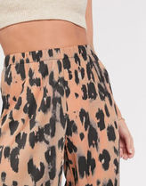ASOS Leopard Patterns Casual Style Other Animal Patterns Culottes