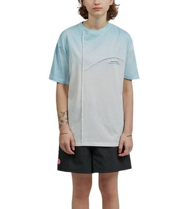 Fine The More T-Shirts Unisex Street Style Cotton Short Sleeves Oversized T-Shirts 3