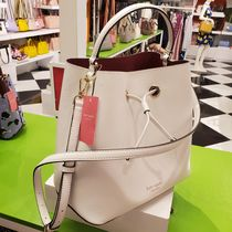 kate spade new york Casual Style 2WAY Plain Leather Party Style Purses Crossbody