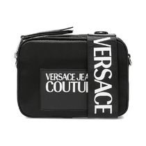 VERSACE JEANS Casual Style 3WAY Plain Crossbody Logo Shoulder Bags