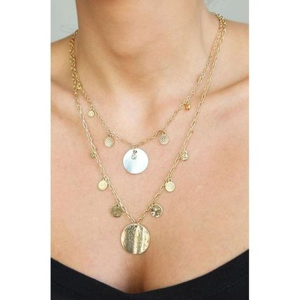 Casual Style Office Style Elegant Style Necklaces & Pendants