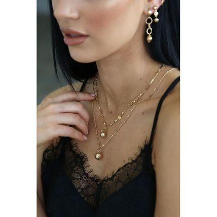 Casual Style 18K Gold Office Style Elegant Style
