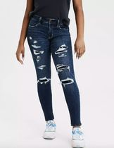 American Eagle Outfitters Denim Blended Fabrics Street Style Plain Cotton Skinny Jeans
