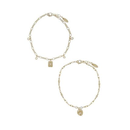 Casual Style 18K Gold Office Style Elegant Style Anklets