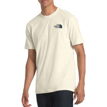 THE NORTH FACE Unisex Street Style Oversized Logo Outdoor T-Shirts