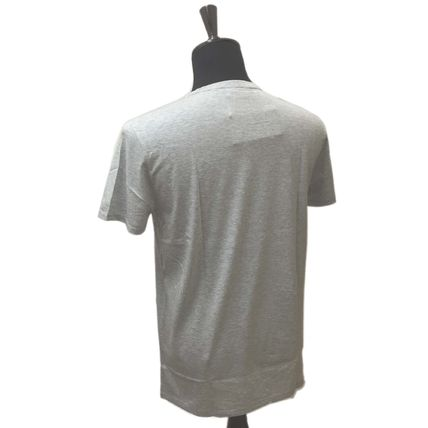 LACOSTE Henry Neck Cotton Short Sleeves Henley T-Shirts