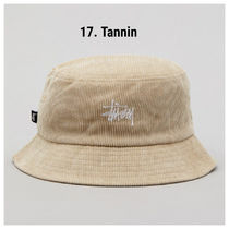 STUSSY Unisex Bucket Hats Wide-brimmed Hats