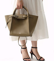 CELINE Big Bag Calfskin A4 Handbags