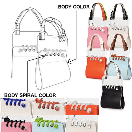 Leather Logo Handbags