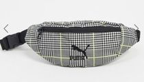 PUMA Other Plaid Patterns Casual Style Street Style Logo