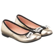 Moschino Kids Girl Ballet Flats