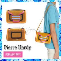 Pierre Hardy Casual Style Suede Blended Fabrics 2WAY Leather Crossbody