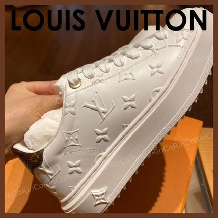 Louis Vuitton Monogram Casual Style Logo Low-Top TIME OUT SNEAKER