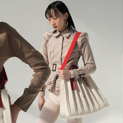 ★JOSEPH&STACEY★20SS Lucky Pleats Canvas L