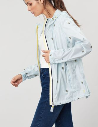 Street Style Plain Other Animal Patterns Nylon Jacket