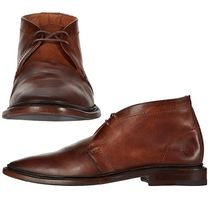 FRYE Plain Leather Chukkas Boots