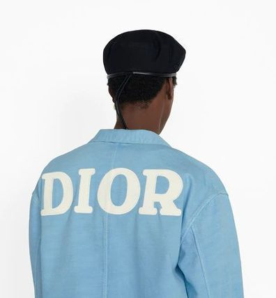 DIOR HOMME Shirts Button-down Denim Street Style Long Sleeves Logo Shirts 3