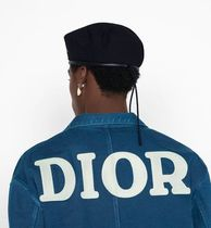 DIOR HOMME Shirts Button-down Denim Street Style Long Sleeves Logo Shirts 12