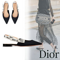 Christian Dior Leather Pointed Toe Shoes