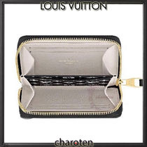 Louis Vuitton ZIPPY COIN PURSE Monogram Unisex Calfskin Canvas Bi-color Leather Tribal