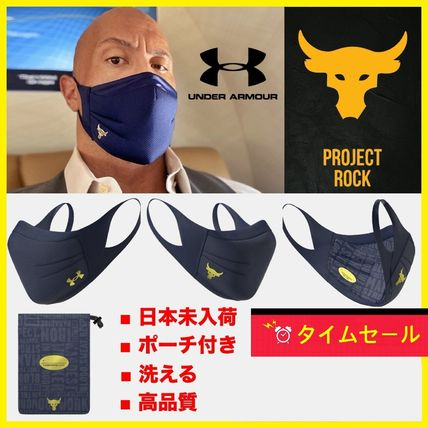 UNDER ARMOUR Unisex Street Style Plain Logo Accessories