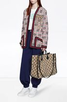 GUCCI Monogram Casual Style A4 2WAY Office Style Elegant Style