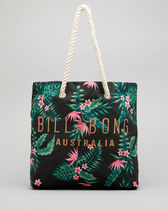 Billabong Flower Patterns Casual Style Blended Fabrics Street Style A4