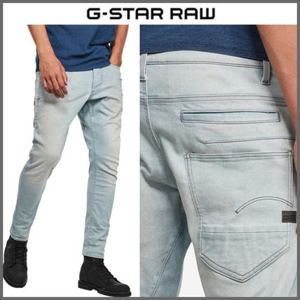 G-Star More Jeans Denim Street Style Plain Logo Jeans