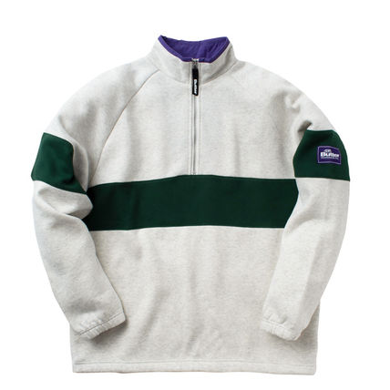Pullovers Long Sleeves Plain Logo Sweatshirts