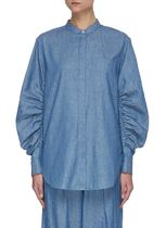 3.1 Phillip Lim Casual Style Long Sleeves Plain Puff Sleeves