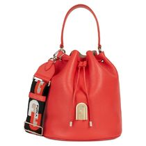 FURLA Casual Style Suede 2WAY Plain Leather Office Style