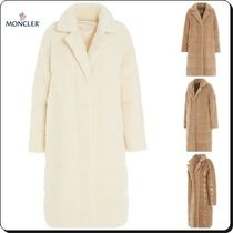 MONCLER Casual Style Street Style Plain Long Party Style