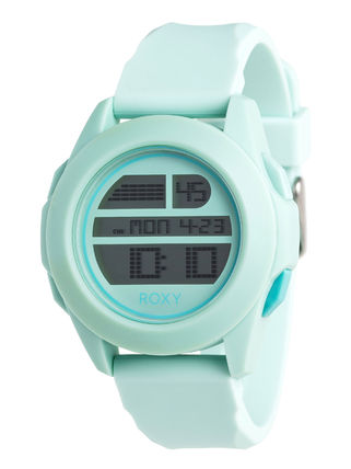 ROXY Casual Style Silicon Round Digital Watches