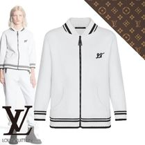 Louis Vuitton Retro Sportswear Three-Quarter Sleeves Jacket