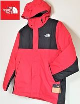 THE NORTH FACE Nylon Street Style Plain Windbreaker Logo Jackets