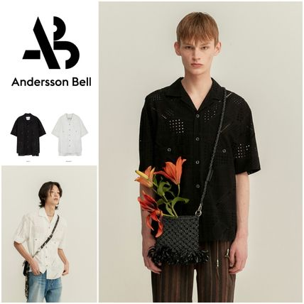 ANDERSSON BELL Shirts Plain Cotton Shirts